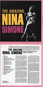NEW-CD-Album-Nina-Simone-The-Amazing-Nina-Simone-Mini-LP-Style-Card-Case