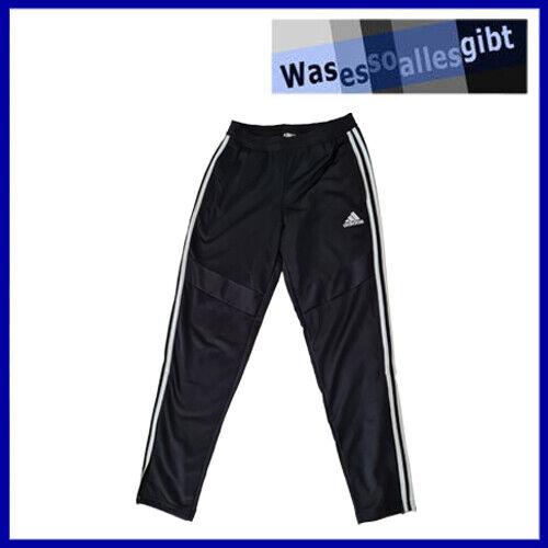 SCHNÄPPCHEN! adidas Tiro 19 Polyester Pant \ schwarz/weiss \ Gr.: S \ #T 40062