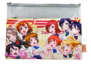 LOVE LIVE! Anime Manga A4 Federmäppchen Mäppchen Etui Schlamper 33.8X24.5cm