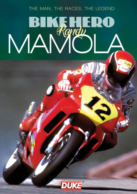 Bike Hero Randy Mamola DVD - The Man, The Races, The Legend