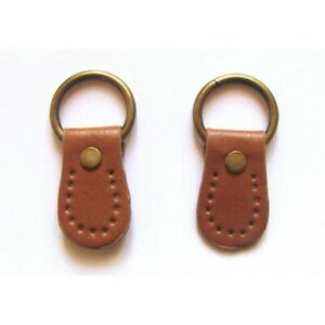 Pair-of-synthetic-leather-loops-for-Anse-de-sac-26mmx45mm-Camel