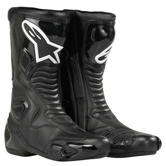 Motorcycle Alpinestars Smx 5 Track Road Boots Uk Seller