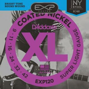 039-Addario-EXP120-Coated-Nickel-Plated-Electric-Super-Light-Guitar ...