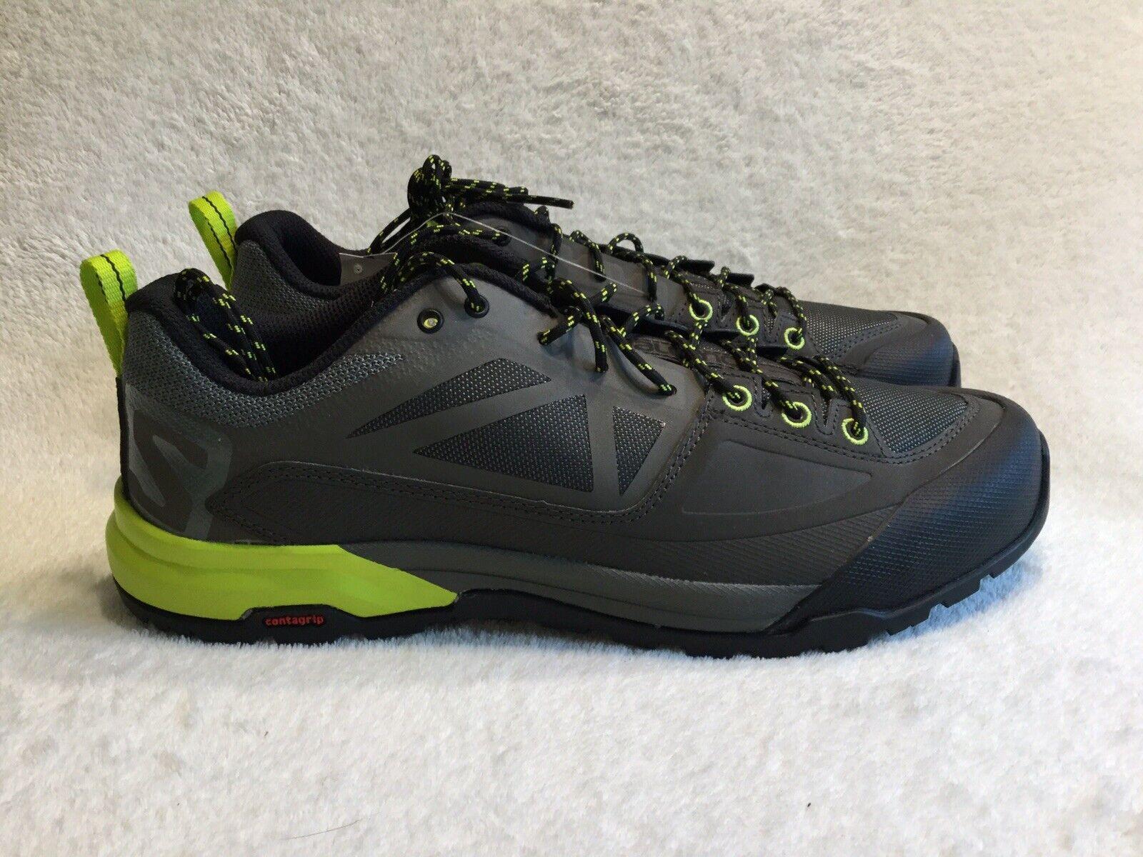 Salomon X Alp Spry Mens Approach Hiking shoes Grey Size 11