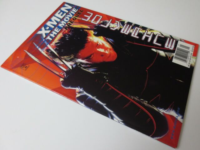 X-MEN THE MOVIE PREQUEL WOLVERINE MARVEL COMIC BOOK AUGUST 2000 (C1129)