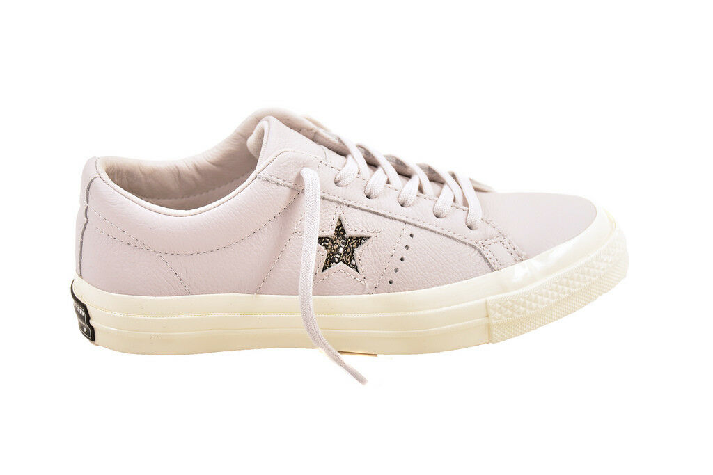 Converse Unisex One Leather 157805 Sneakers Grey Size UK 7   BCF87