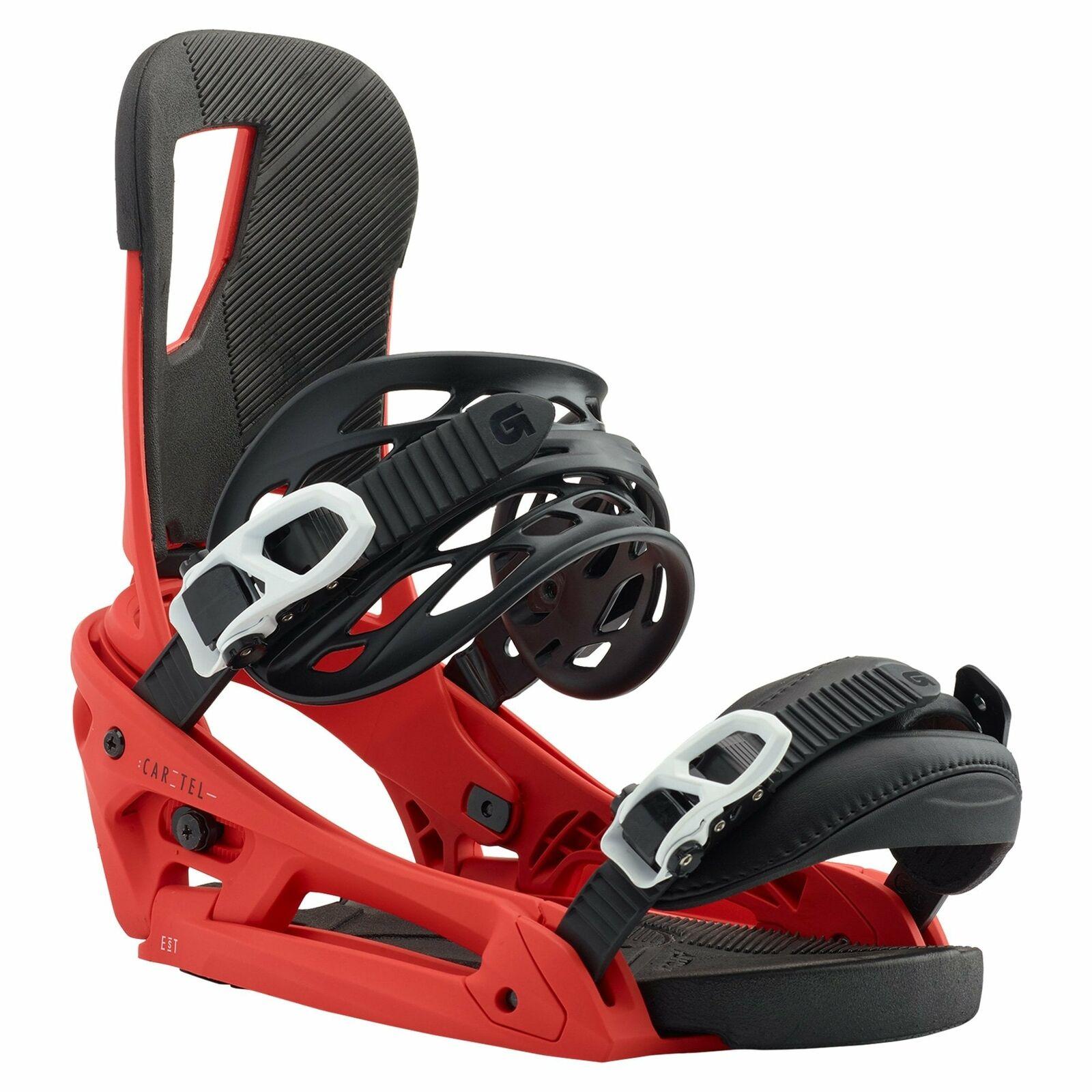 Burton Cartel EST Snowboard Binding 2020 - rot