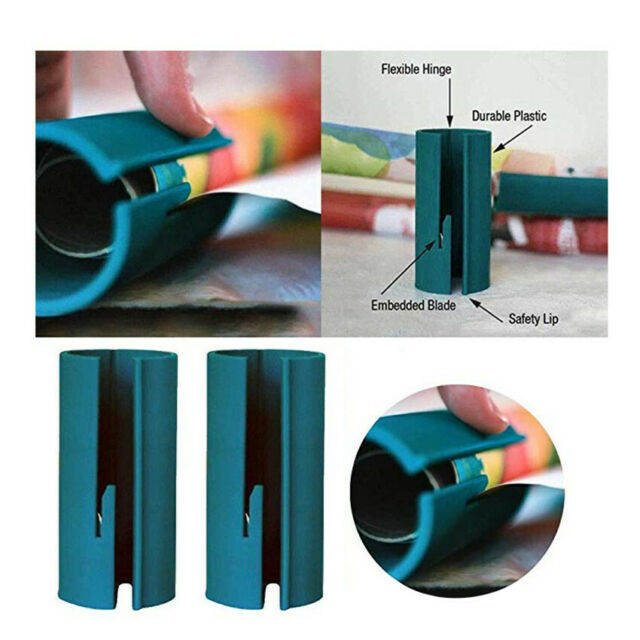 Wrapping Paper Cutter Christmas Wrapping Paper Cutting Tools Wrapping Paper Blue