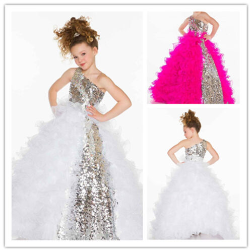 Flower Girl Dresses for Wedding Pageant Party Birthday Prom BallGown Bridal