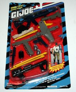 Weapons Arsenal NEw Sealed JOE Hall Of Fame Urban S.W.A.T Vintage 1993 G.I