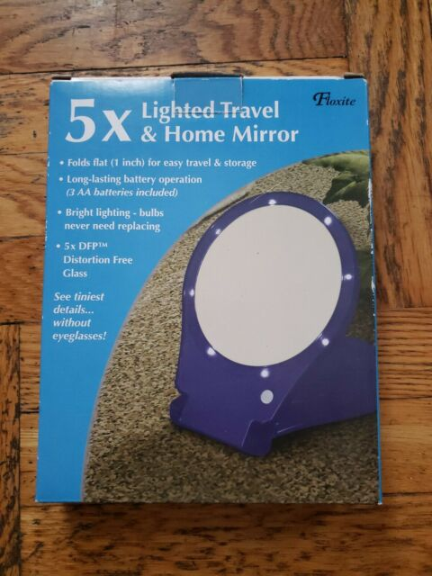 Floxite 5x Magnifying 360 Degree Lighted Home Amp Travel