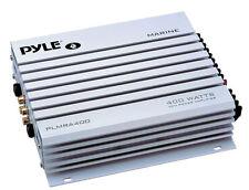 Pyle PLMRA 400 4 canali 400w Impermeabile Marine Barca 12v Altoparlante Amplificatore Amp