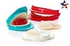 Empanada Maker Hand Tool Calzone Ravioli Mould Dumpling Dough Press Set of 3