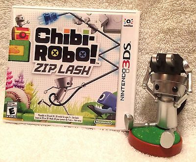 Nintendo 3DS Chibi Robo Zip Lash with Cartridge and Amiibo (US/CAN)