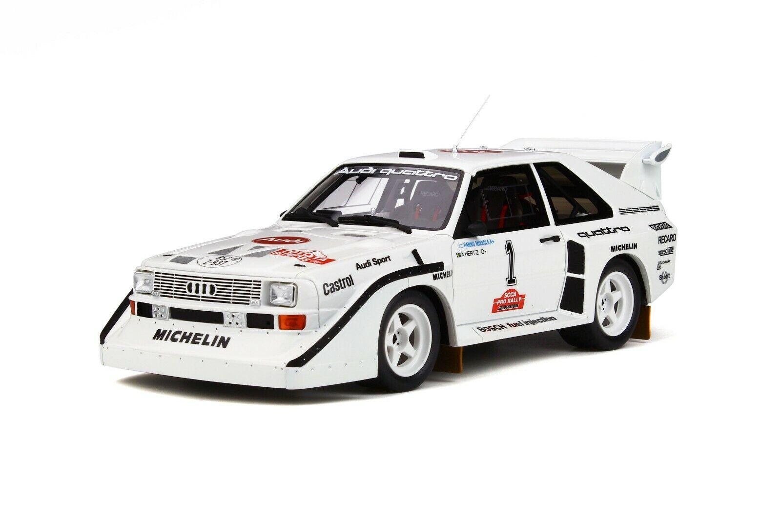 Audi Sport Quattro s1 Olympus RALLY   1 Mikkola  NOUVEAU  Otto ot757  1 18