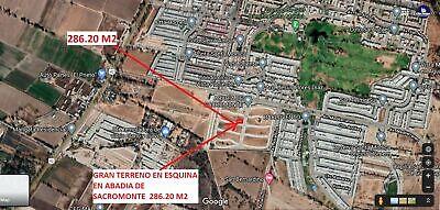 MAC GREGOR VENDE GRAN TERRENO RESIDENCIAL AL SUR EN ABADIA DE SACROMONTE