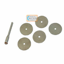 6 Piece Steel Cutting Disc Set Kit Dremel Compatible Multi Tool Accessories