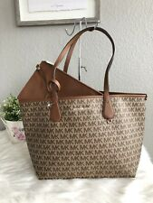 348e79087fe9c5 item 1 New Michael Kors Candy Large Reversible Tote in Signature PVC Beige  / Luggage -New Michael Kors Candy Large Reversible Tote in Signature PVC  Beige / ...