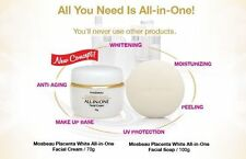 Mosbeau Placenta White All in One Face Cream and Soap Skin Whitening Lightening