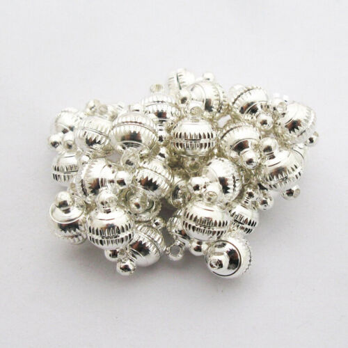 Silver Strong Magnetic Jewelry Clasps  Finding Bead 20sets For Jewelry Making BH