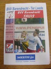 15/03/2014 Barendrecht v Ter Leede [Incorrectly Listed at Noordwijk inside) . An