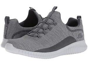 Details about SKECHERS 52868CHAR ELITE FLEX WESTERFIELD Mn's (M) Grey Textile Athletic Shoes