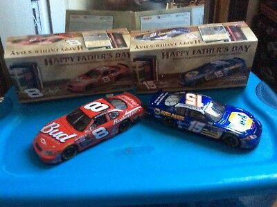 Dale Jr 2004 Fathers Day & Micheal Waltrip Fathers Day Cars 1/24 Scale Ture 100% Guarantee Cars: Racing, Nascar Other Diecast Racing Cars