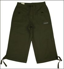 "Bnwt Women's Wrangler Jungle Reef 3/4 Cargo Combat Shorts Jeans W28"""