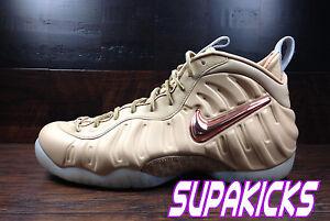online retailer 9d6ea 7de2c Image is loading Nike-FOAMPOSITE-PRO-PRM-AS-QS-Vachetta-Tan-