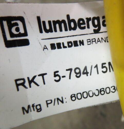Lumberg RKT 5-794//15m Cordset