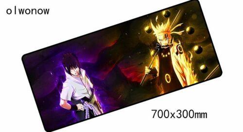 Naruto Sharingan Rinnegan eye mouse pads anime sasuke otaku mousepad free ship