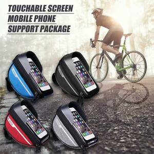 Bicycle-Cycling-Bike-Front-Top-Tube-Frame-Bag-MTB-Waterproof-Phone-Holder-Case