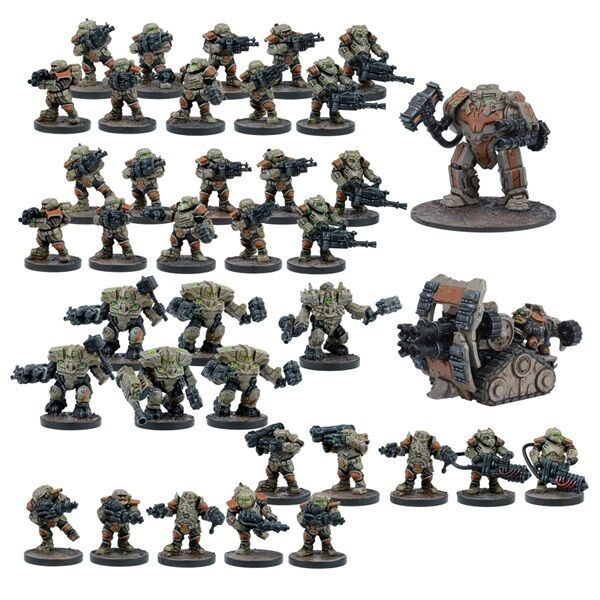 FORGE FATHER STARTER FORCE - WARPATH - MANTIC GAMES - SENT 1ST CLASS