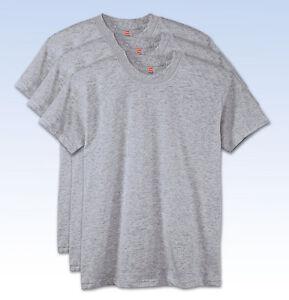 698dcdfc 3-Pack HANES Boys' ComfortSoft Crewneck T-Shirt 5480 - Light Steel ...