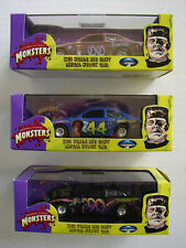 Universal Studios Monsters Metal Stock Cars 1:43 Full Set NIB DRACULA WOLFMAN