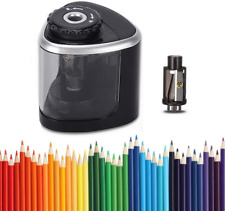 Electric Pencil Sharpener Automatic And Manual For No2 Colored Pencils 6 8mm
