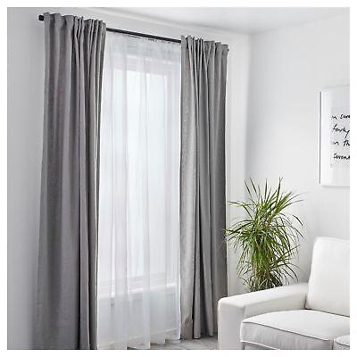 Ikea Sheer Curtains Teresia Bedroom Living Room Window Blind 250x145cm White Ebay