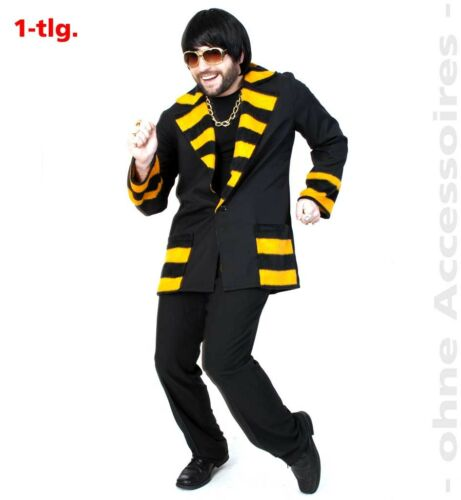 Jacke Percy L XXL Disco Biene Kostüm Basic Karneval Fasching 1210844G13