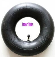 (2) 4.10x3.5-4 Tire Inner Tube Bent Valve Stem Tiller Mower Snow Blower Tubes