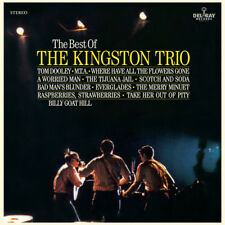 The Best of the Kingston Trio [Capitol] by The Kingston Trio (CD, Feb-2018, Del Ray)