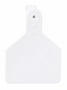 Y-TEX MEDIUM 3-STAR TAGS Calf//Cow Fade Tear Resistent #101-125 White 25ct Pkg