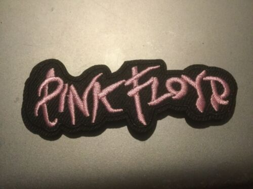 """Pink Floyd Band Patch Rock Music Embroidered Iron On Applique 3.25/""""x1.25"""""""