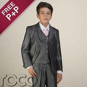 Boys-Suits-Boys-Grey-Suit-Boys-Formal-Wear-Prom-Suits-Boys-Wedding-Suits