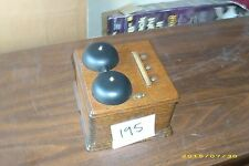 Original Vintage  Wall Telephone , single  box (195)