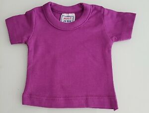 New-Small-T-Shirt-Purple-Purple-For-Approx-9-13-16-11-13-16in-Bears