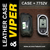 Viper 7752v 2-way Lcd Replacement Remote Control And Leather Case Combo