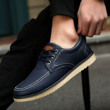 013866c2f3607c 2018 Men s Driving Casual Boat Shoes Leather Shoes Moccasin Slip On Loafers