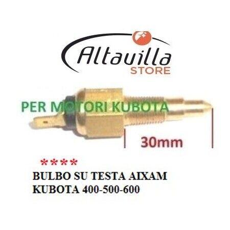 TERMISTORE KUBOTA MOTORE AIXAM Z402 Z482 Z602 CROSSLINE CROSSOVER K16222830