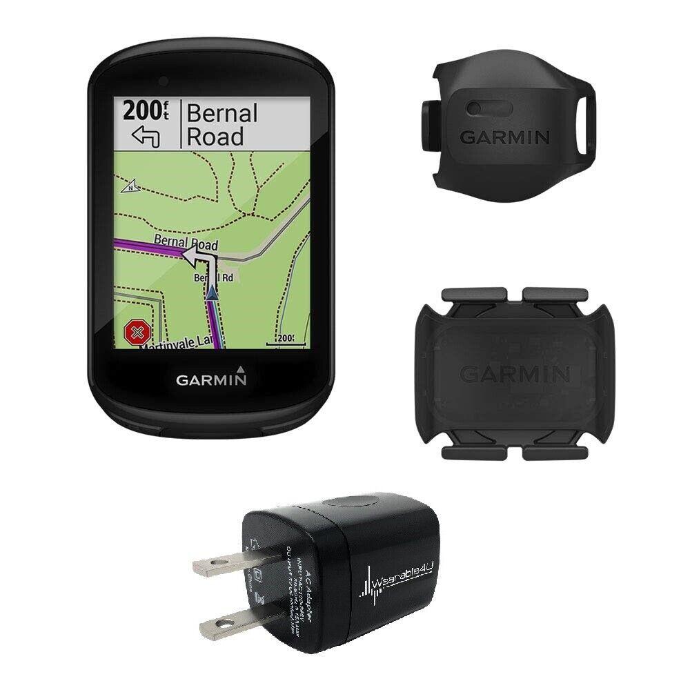 Garmin Edge 830 GPS Cycling Computer W Garmin 2nd Gen Vitesse et Cadence Sensor