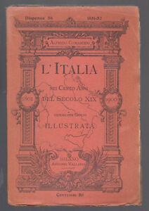 COMANDINI-L-039-ITALIA-NEI-CENTO-ANNI-DEL-SECOLO-XIX-ANNO-1851-DISPENSA-56-VALLARDI